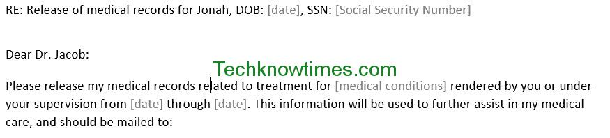 Sample Medical Authorization Letters Image Titled Write Letter Of