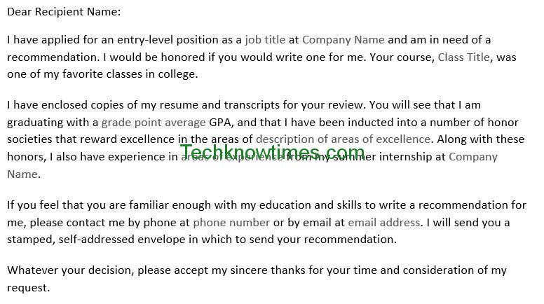 asking for a letter of recommendation asking for a letter of recommendation cover 42571