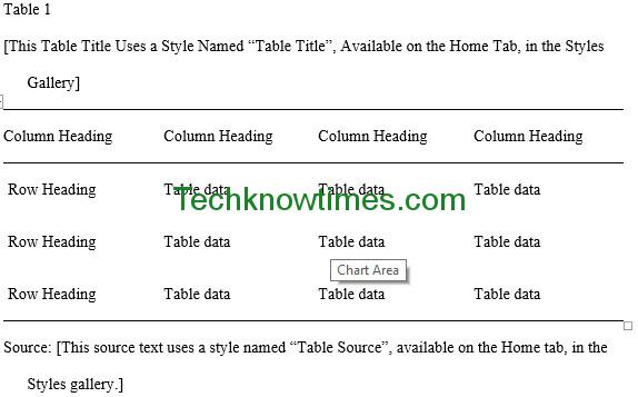 mla outline template word