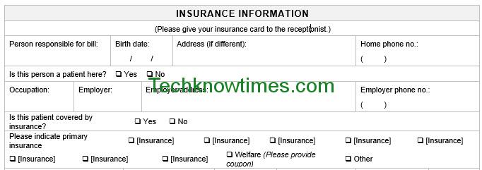 patient registration form pdf
