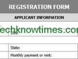 Free Registration Form Templates