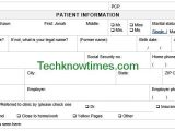 patient registration form doc
